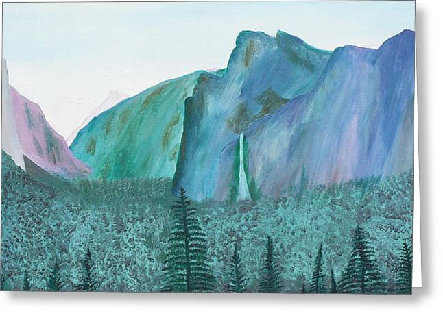 Yosemite View Greeting Card