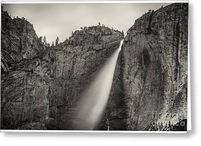 Yosemite Waterfall #2  Greeting Card