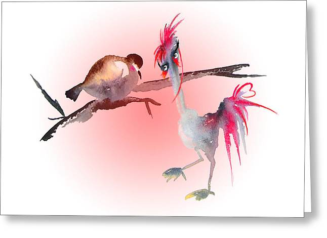 You Are Just My Type Greeting Card by Miki De Goodaboom