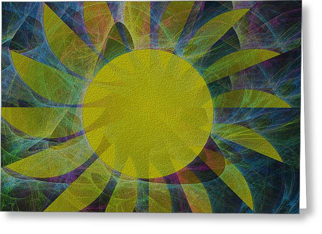 You Are My Sunshine Greeting Card by Kathleen Sartoris