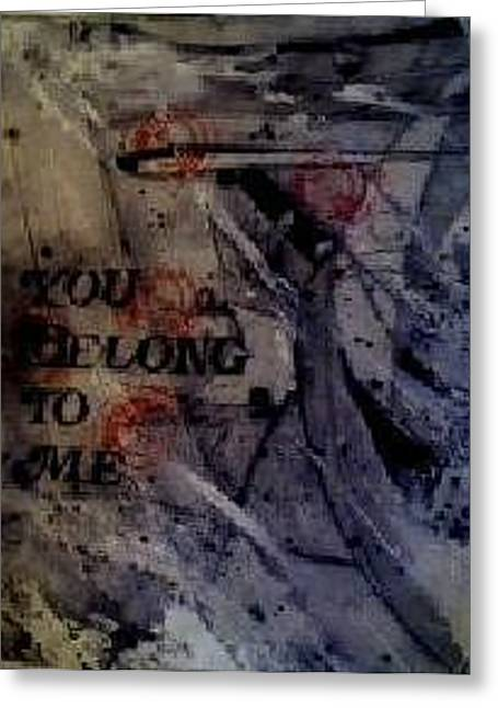 You Belong To Me A Book Of Musical Compositions By Rebecca Tacosa Gray  Greeting Card by Rebecca Tacosa Gray