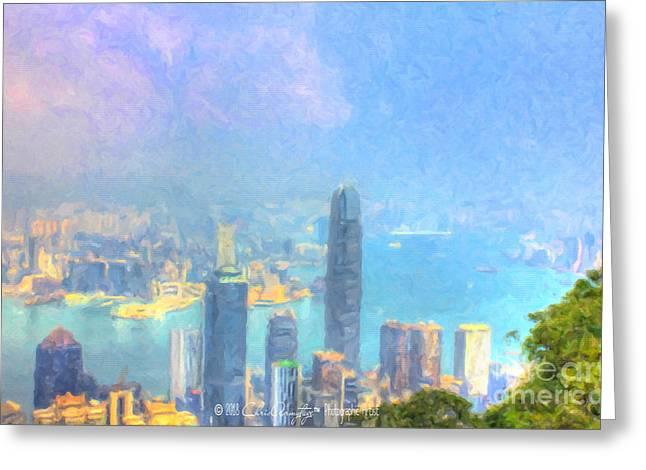You Can Leave Hong Kong  Greeting Card