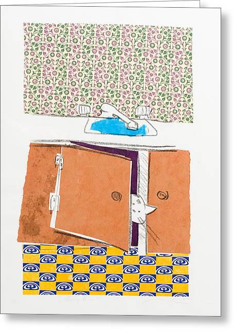You Looking For Me Greeting Card by Leela Payne