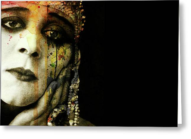 Greeting Card featuring the mixed media You Never Got To Hear Those Violins by Paul Lovering