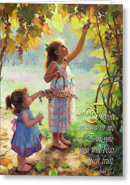 You Will Bear Much Fruit Greeting Card