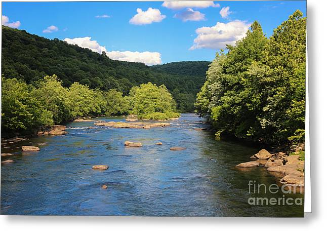 Youghiogheny River Greeting Card