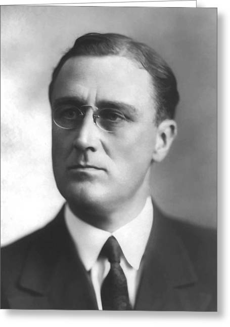 Young Franklin Delano Roosevelt Greeting Card