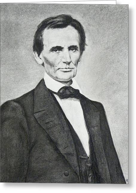 Young Lincoln Greeting Card