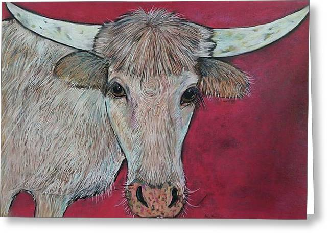Young Longhorn  Greeting Card