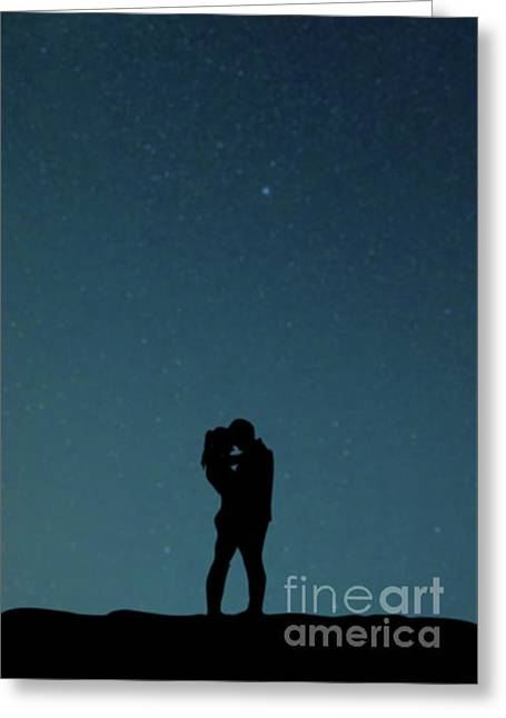 Young Lovers Greeting Card