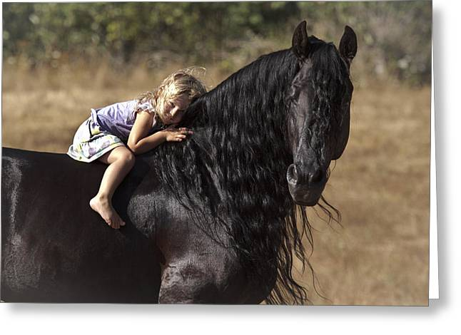 Young Rider Greeting Card