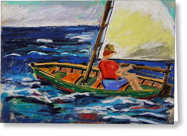 Greeting Card featuring the painting Young Sailor by John Williams