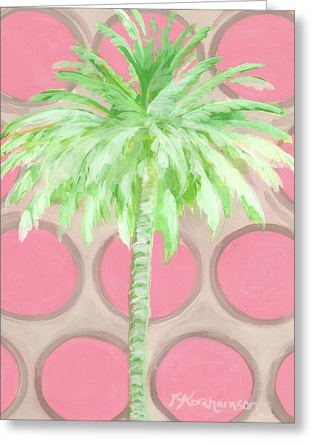 Your Highness Palm Tree Greeting Card