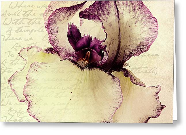 Your Love Remains Forever In My Heart Greeting Card by Georgiana Romanovna