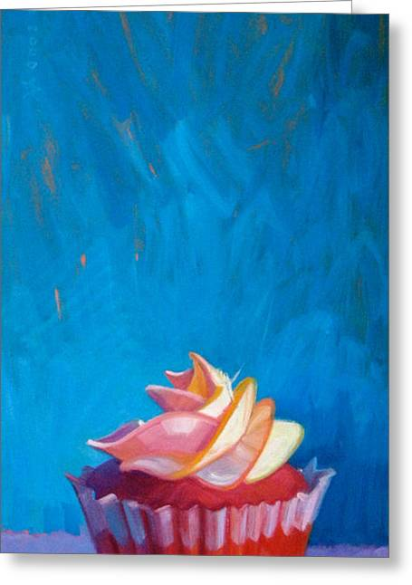 Gourmet Art Greeting Cards - Your Majesty Greeting Card by Penelope Moore