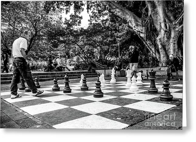 Your Move Greeting Card by Lexa Harpell