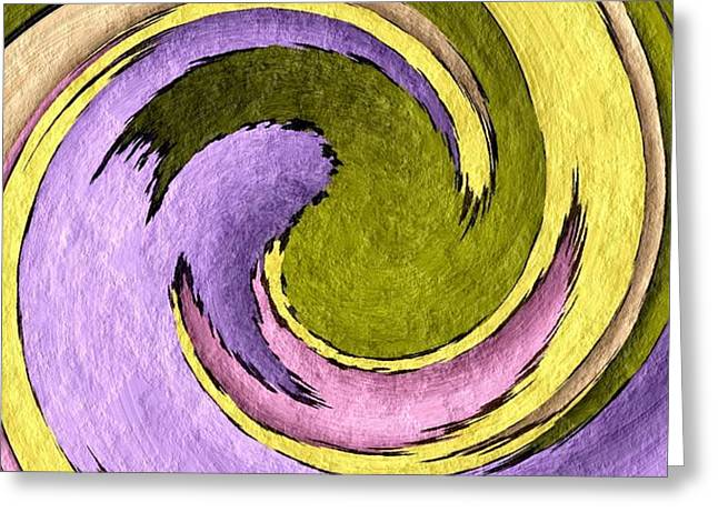 Your Ying To My Yang Greeting Card by Terry Mulligan