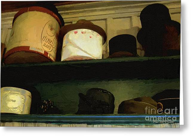 Interior Still Life Digital Greeting Cards - Youre the Top Greeting Card by RC DeWinter