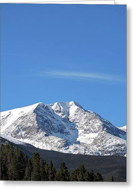 Ypsilon Mountain Greeting Card