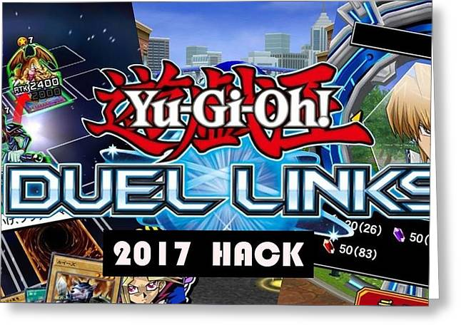 Yu Gi Oh Duel Links Hack Greeting Card by Yu Gi Oh Duel Links Hack