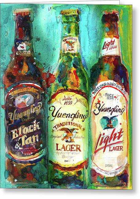 Yuengling Beers Greeting Card