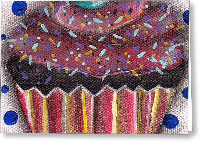 Yummy 5 Greeting Card by  Abril Andrade Griffith