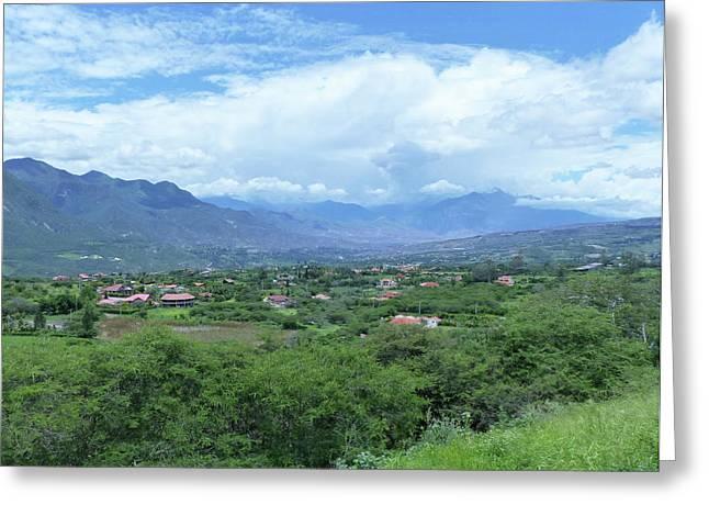 Yungilla Valle - La Ascuncion 53 Greeting Card