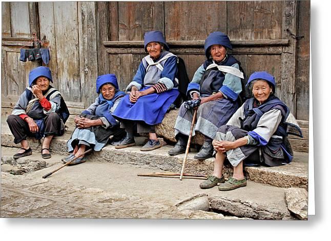 Yunnan Women Greeting Card