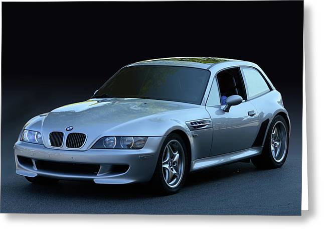 Greeting Card featuring the photograph Z3 M Coupe by Bill Dutting