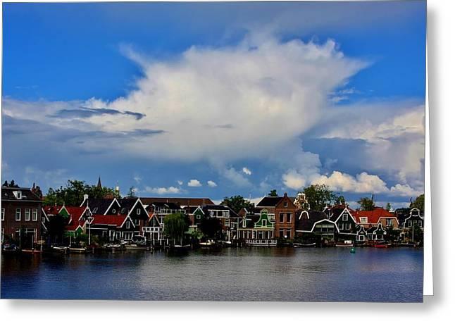 Zaandijk Netherlands Greeting Card by Stacie Gary