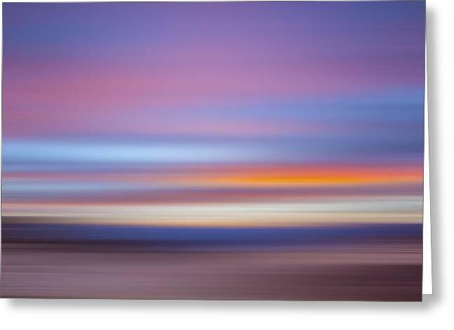 Zabriski Colors X Greeting Card by Jon Glaser