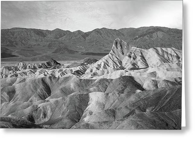 Zabriskie Point Landscape Greeting Card