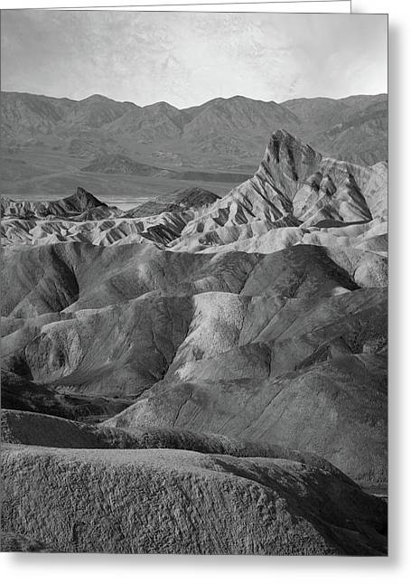 Zabriskie Point Portrait Greeting Card