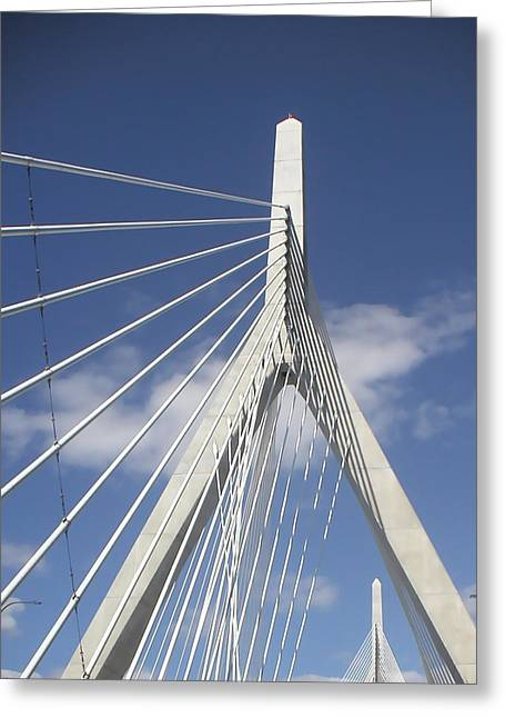 Zakium Bridge Greeting Card