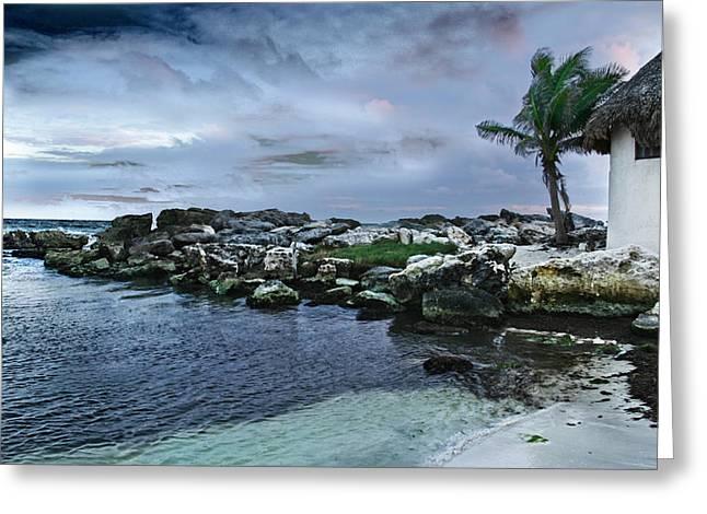 Zamas Beach #8 Greeting Card
