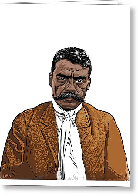 Zapata Greeting Card