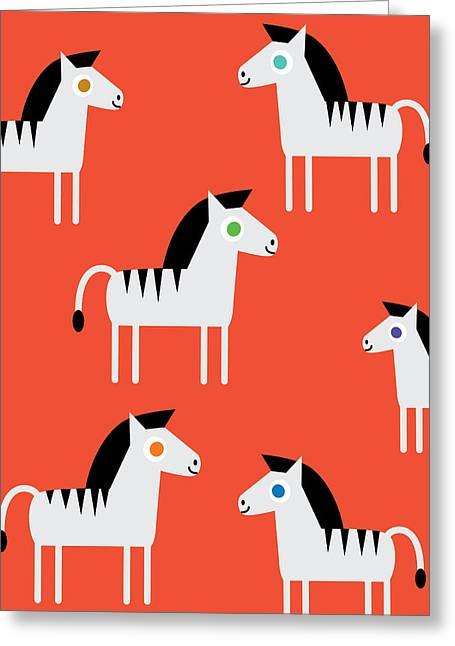 Zebras Greeting Card by Pbs Kids
