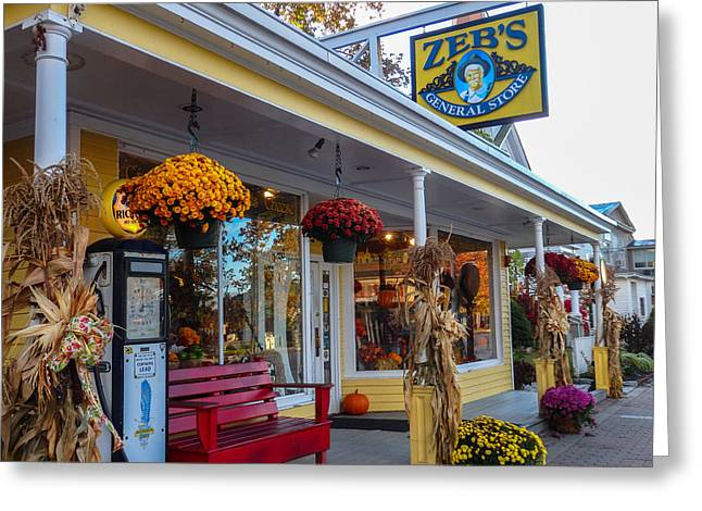Zebs General Store, North Conway 1 Greeting Card