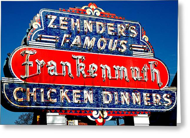 Greeting Card featuring the photograph Zehnder's Frankenmuth Michigan by LeeAnn McLaneGoetz McLaneGoetzStudioLLCcom