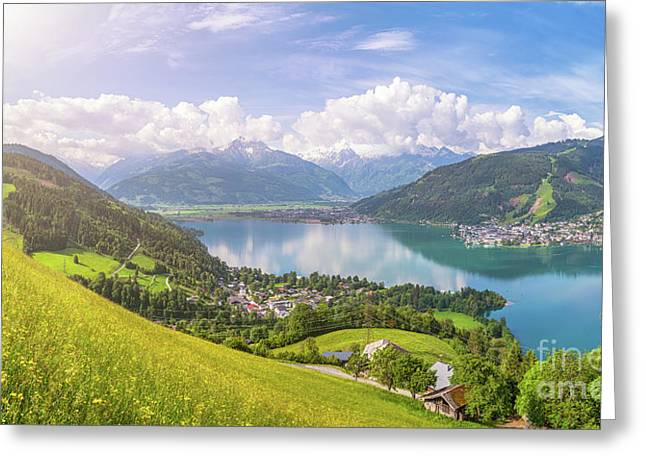 Zell Am See - Alpine Beauty Greeting Card