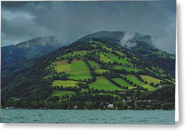 Zell Am See Panorama Greeting Card