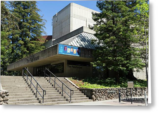 Zellerbach Playhouse At University Of California Berkeley Dsc6306 Greeting Card