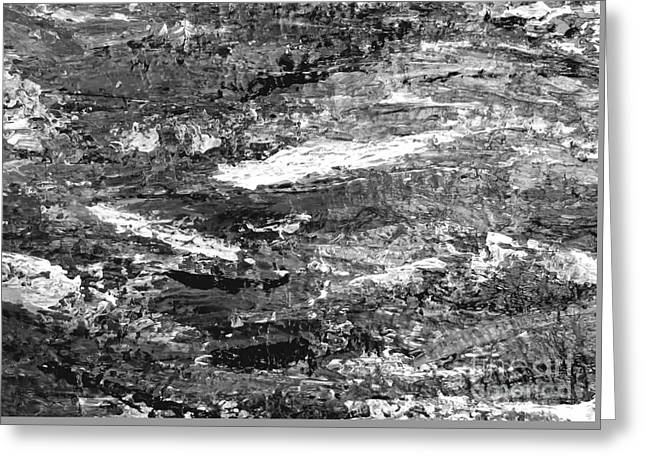 Zen Abstract A723b Greeting Card