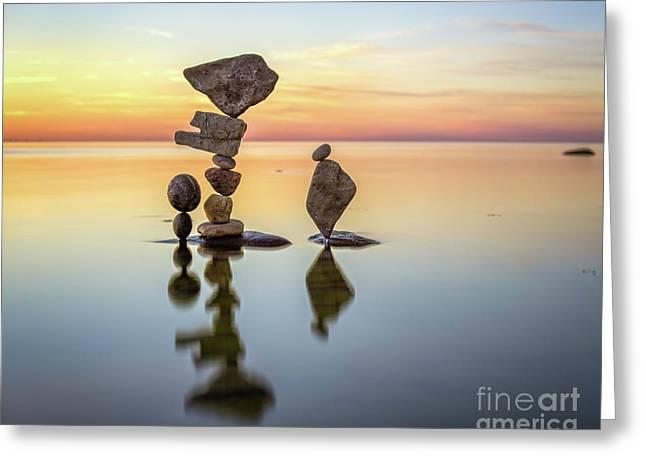 Zen Art Greeting Card
