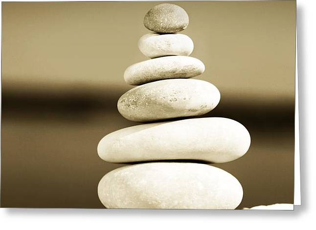 Zen Balance Greeting Card