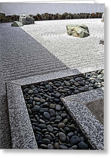 Zen Garden Greeting Card by Michelle Calkins