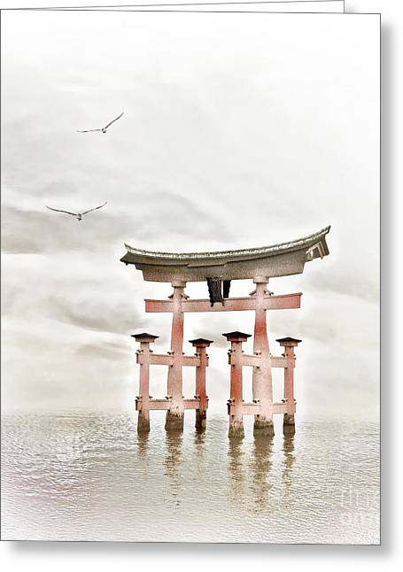 Zen Greeting Card by Jacky Gerritsen