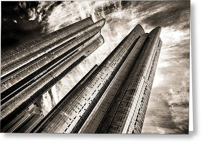 Zenith Towers Greeting Card