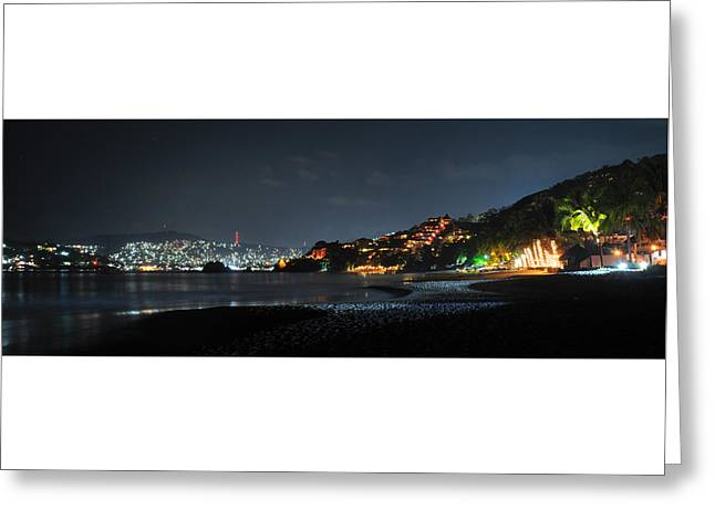Zihuatanejo, Mexico Greeting Card by Jim Walls PhotoArtist