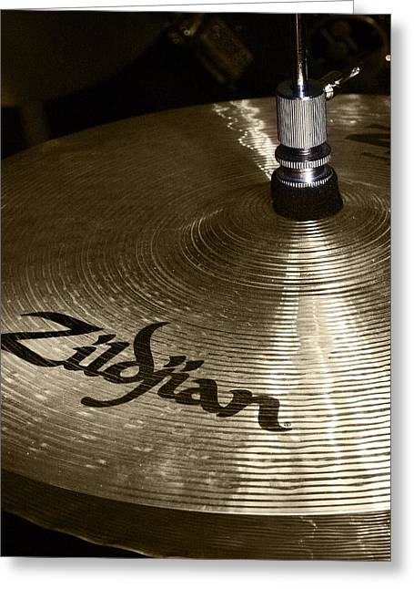 Zildjian Cymbal Greeting Card